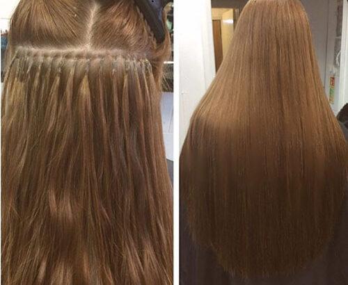 فروش موهای اکستنشن طبیعی