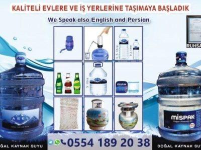 پخش آب معدنی در استانبول