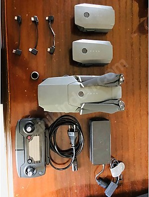کواد کوپتر DJİ MAVIC PRO (3 باتری)