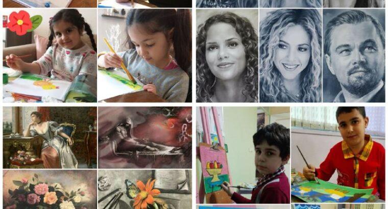 آموزش طراحی و نقاشی برای کودکان در ترکیه