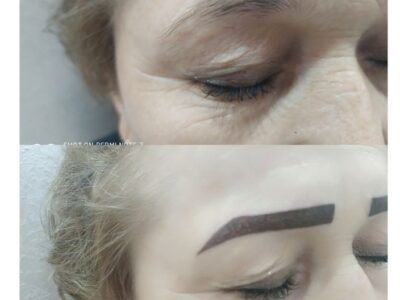 تتو ابرو خط چشم پاکسازی پوست