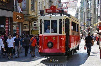 پانسیون 2 خوابه نزدیک میدان تکسیم استانبول